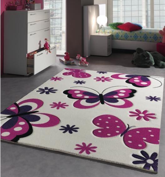 kusový koberec Merinos Diamond motýlci