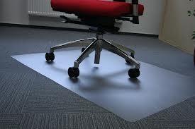 Podložka pod kolečkovou židli na koberec
