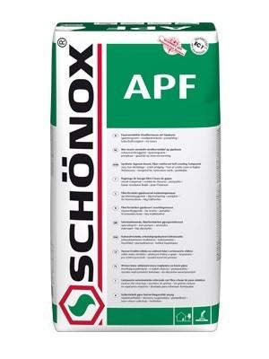 Anhydritová samonivelační stěrka Schönox APF