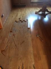 Demontáž stávající podlahy