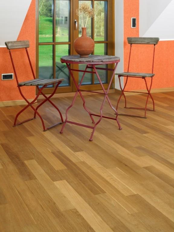 masivní dřevěné podlahy Berthold