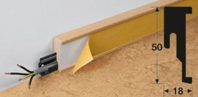 Meister lišty pro podlahu z přírodního linolea