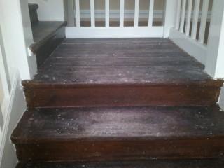 Původní schody