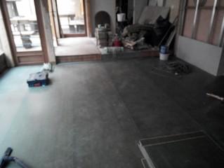 Nová podlaha z desek