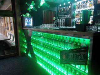 Vstupní prostor do baru