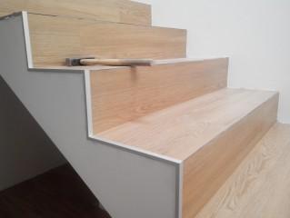 Montáž schodové hrany