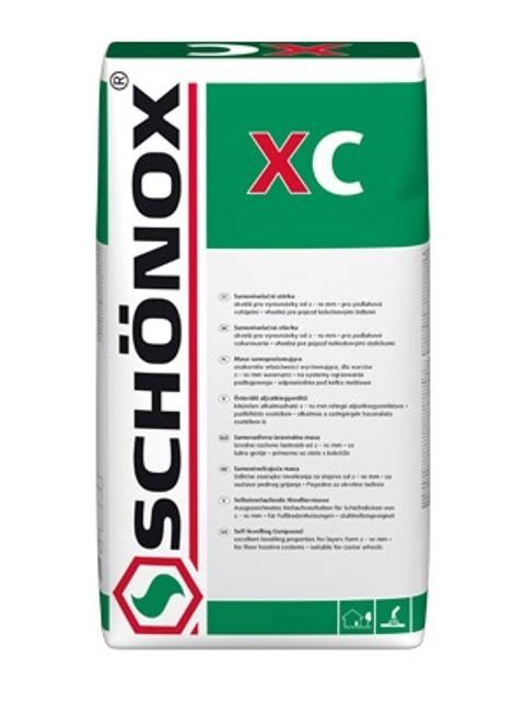 Samonivelační podlahová stěrka Schönox XC