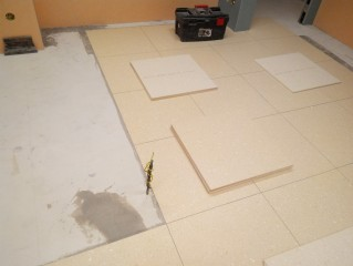 Elelktrostatické PVC čtverce