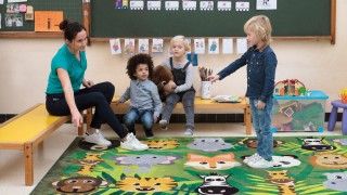 koberce pro školy a školky